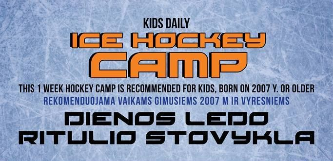 Bērnu hokeja nometne Lietuvā